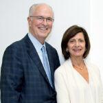 RICHARD J. HARRINGTON and Jean Harrington have pledged an additional $4 million to the Harrington School of Communication and Media at URI to support renovations. / COURTESY UNIVERSITY OF RHODE ISLAND