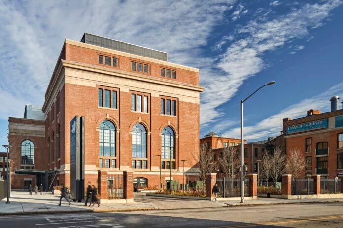 THE SOUTH STREET LANDING building was honored with a 2019 Richard H. Driehaus Foundation National Preservation award. / COURTESY CV PROPERTIES
