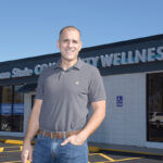 REPURPOSED: Executive Director Kevin Brochu stands in front of the new Ocean State Community Wellness Center in North Kingstown, which until last April served as the West Bay YMCA.PBN PHOTO/MIKE SKORSKI