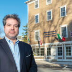 FOREIGN FOCUS: Richard W. Pinto Jr., CEO of the Rhode Island International Trade Center in Providence, says the center focuses on bringing foreign companies into the United States via Rhode Island and is working with about a dozen foreign companies in Ireland, Italy, Canada, Spain, Lithuania and the United Kingdom. / PBN PHOTO/MICHAEL SALERNO