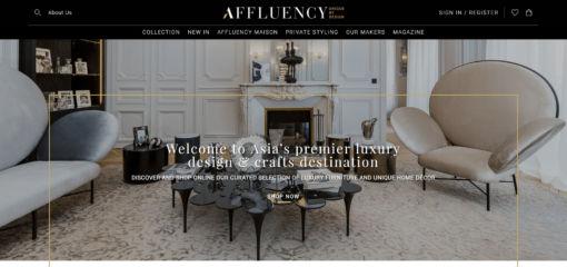 Affluency - Your online Luxury Design & Crafts