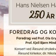 Foredrag og konsert Hauge 250 år