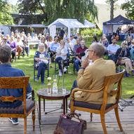 Litterær hagefest på Løkken 2021