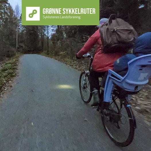 Grønne sykkelruter, Kristiansand: Haumyrheia - Ronatoppen