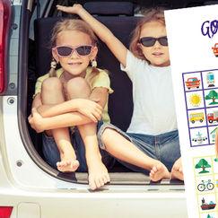Last ned bilbingo helt gratis - gøy for barn på biltur