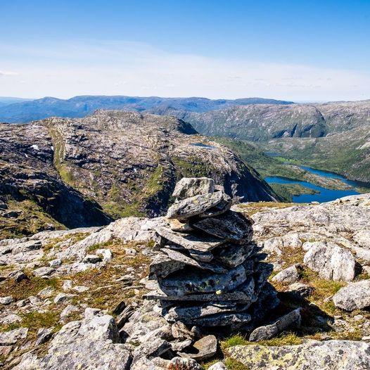De fem høyeste i Alver fra Dyrkolbotn