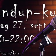 Comedy Box sitt standup-kurs!