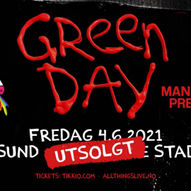 Ny dato! Green Day / Color Line Stadion, Ålesund