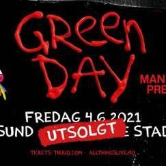 Ny dato! Green Day / Color Line Stadion, Ålesund