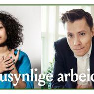 Det usynlige arbeidet. Jan Grue og Camara Lundestad Joof