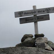 Topptur til Skåråfjell