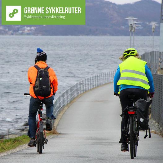 Grønne sykkelruter: Lurastø – Gausel stasjon