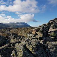Topptur til Toreskyrkja 1364 moh fra Heddersvatn