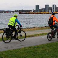 Grønne sykkelruter: Gausel stasjon – Hillevåg