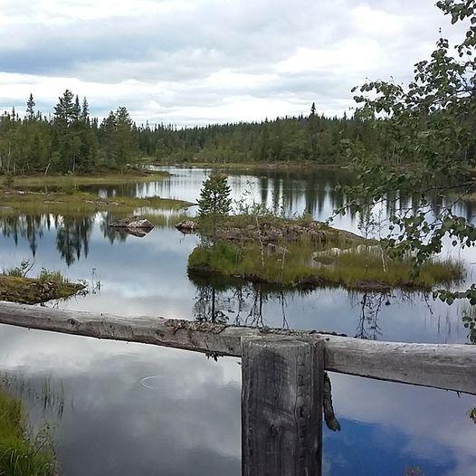 Vestersætrene - Holmvassdammen