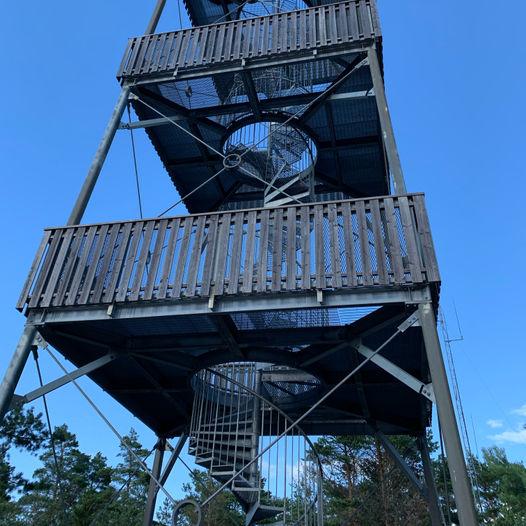 Sprinklet og Panoramatårnet i Fredrikstad