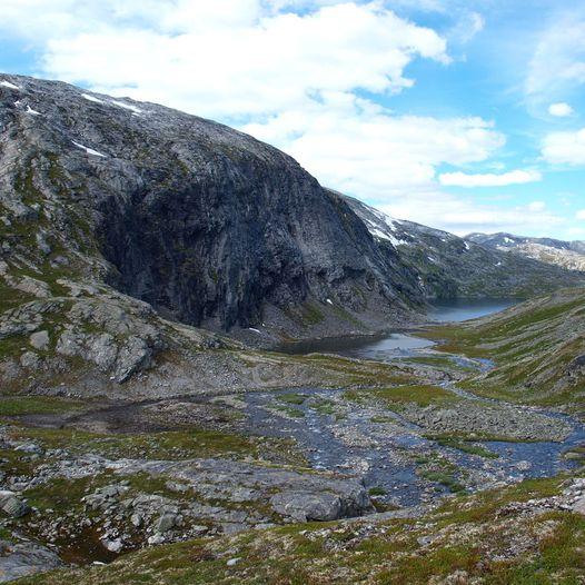 Stien mellom Kaldhusseter og Danskehytta