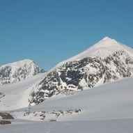 Oksskolten (1916 moh.) - høyest i Nord-Norge