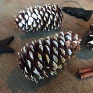 Lag vakre julekongler med barna - hjemmelaget julepynt