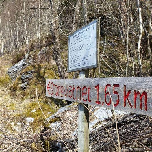 Norddalsfjord Svanevatnet - Gjelefjellet - Lendingsholten, rundtur