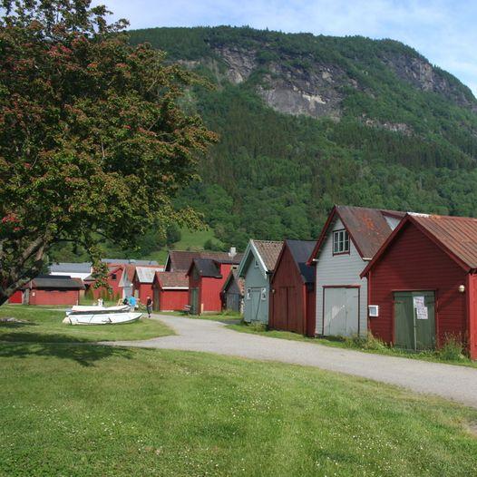 Kulturhistorisk løype i Vik - Vikøyri