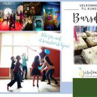 Kreativ barnebursdag på Sjøholmen