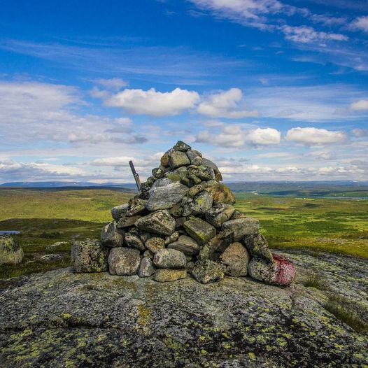 Topptur til Erkkeristenčohkka 224 moh i Tana kommune