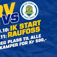 FK JERV mot Ranheim