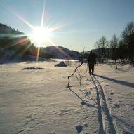 Skitur til Lysenuten - nydelig rundskue
