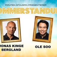 Sommerstandup: Jonas Kinge Bergland & Ole Soo
