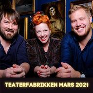 SILYA - Trio // Teaterfabrikken // Lørdag 20. mars 2021