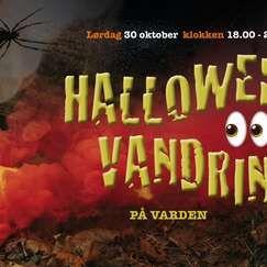 Halloween vandring på Varden 2021