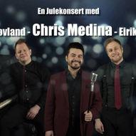 Julekonsert med Chris Medina, Pernille Øiestad, Eirik Næss & Lars Støvland +++ // Perleporten Kultur
