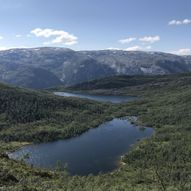 Utsiktstur til Oksla på Nygard i Modalen