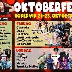 Cascada, Daze, Luxus Leverpostei, Galaxee, Dr. Alban, La Cream og DJ Howard!