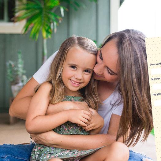 Du er verdens beste mamma fordi... - Last ned gratis kort til morsdagen!