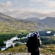 Vintervegen til Lomsdalen