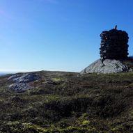 Båtevassfjellet (Grønestølsvarden) fra Einestrand