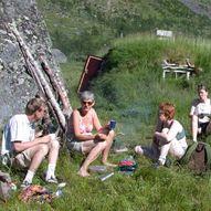 Skardalsgammen i Skardalen, Kåfjord