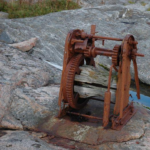 Buarøya i Osen. Kulturminne.