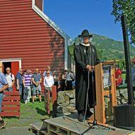 Prestavegen - frå Årdal gamle kyrkje til Eggjabø