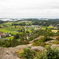 Telttur fra Tangvall til Lindåsen via Søgneskiltet
