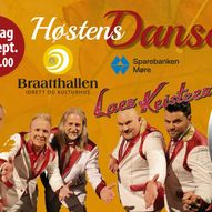 Dansegalla 25. september i Braatthallen, Kristiansund