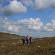 Norge på langs med barn / Etappe 16.2 / Kautokeino–Olderfjord