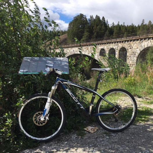 På sykkel i Dovre - Grønbogrunden