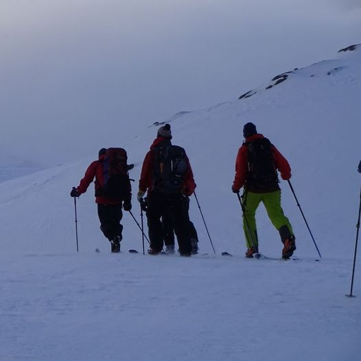 Fiskefjorden til Haakonsbu - Kronprinsruta (vinter)