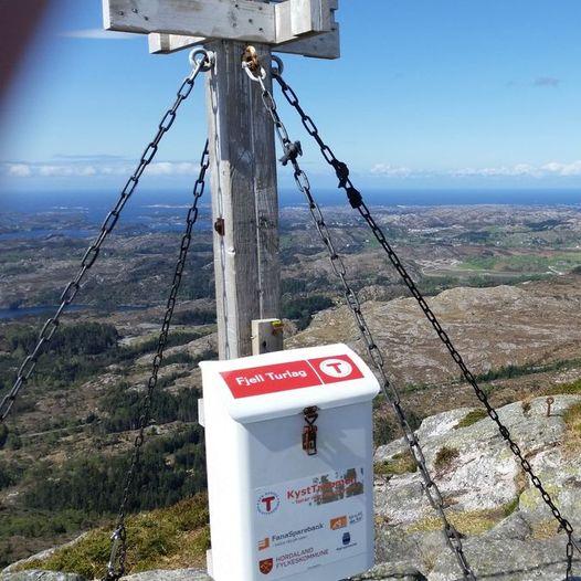 Topptur til Liatårnet, høyeste fjellet på Sotra