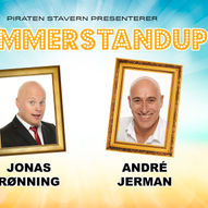 Sommerstandup: Jonas Rønning & André Jerman