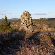 Topptur til Vardefjell i Sauherad