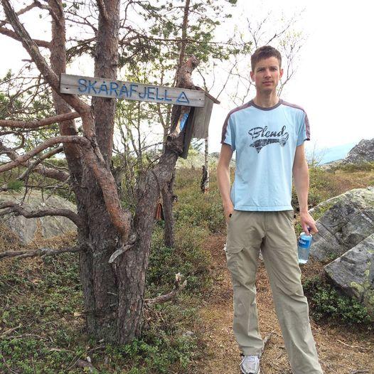 Skåråfjelltoppen 679 moh